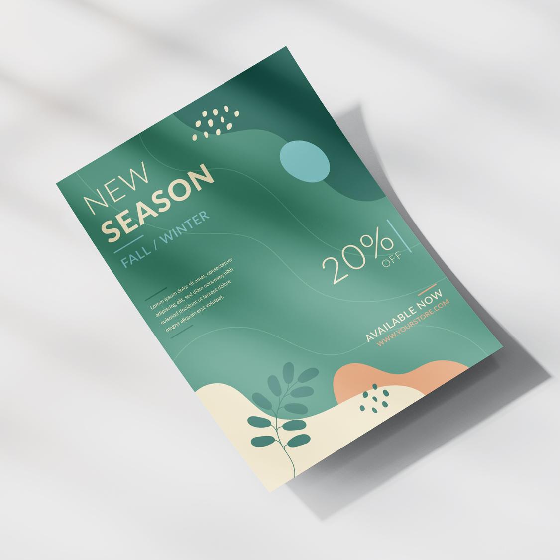A4 Flat Leaflet & Flyer